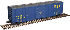 "Csxt Railroad Afc 50' 6"" Boxcar By Atlas Trainman - Ready To Run! Super Buy!"