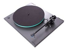 Rega RP3 Turntable w/dustcover/glass-platter/RB303 Tonearm Cool Grey $900 List !