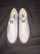 All Star Convers- Leather White Brand New