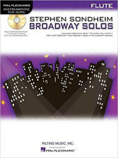Instrumental Play-Along: Stephen Sondheim Broadway Solos - Flute (Hal Leonard In