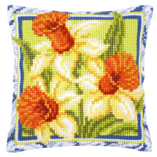 Vervaco-puntada cruzada contada Kit-Floral Corazón-PN-0156336