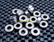 "[10 Pcs] R156zz (3/16"" x 5/16"" x 1/8"") Metal Shielded Ball Bearing Bearings R156"