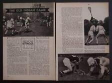 Lacrosse 1948 John Hopkins University vintage pictorial