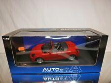 AUTOART 78711 TOYOTA MR2 SPYDER 1999 - RED 1:18 - BOXED + TRANSPORT STRAPS CAR