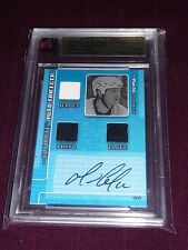 05-06 ITG Ultimate Mario Lemieux Auto Trifecta JERSEY Glove and Pants  /18