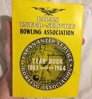 Japan Inter-Service Bowling Association Yearbook 1963-64 USAF AIR FORCE VIETNAM