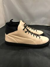 Puma Mens PLAY NUDE Natural Patent Leather Lace Up Sneakers Shoes Size 8 US