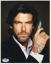 Pierce Brosnan James Bond 007 Signed Authentic 8X10 Photo PSA/DNA #I84675