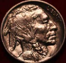 Uncirculated 1915 Philadelphia Mint Buffalo Nickel