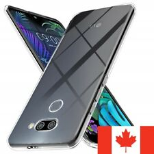 For LG Q60 - Crystal Clear Case Gel Ultra Thin Soft TPU Transparent Cover