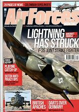 Air Forces Monthly 2015 April JSF,USS Midway,A-4N Skyhawk,Taiwan,C-26 Metroliner