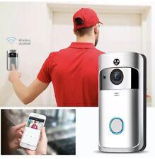 WiFi Wireless Doorbell Video Talk Smart Home Door Bell Security Camera Intercomb