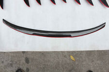 M4 Style Red Line Carbon Fiber Trunk Spoiler Wing for BMW E92 Coupe 06-13