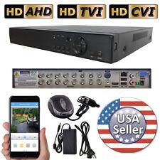 Sikker 4ch 8ch 16ch 32ch DVR surveillance camera system 1080P 720P CVI TVI lot