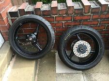 HONDA CBR 929 RR Fireblade Front and Rear Wheel & Part Worn Tyres 2000 - 2001 #4