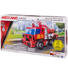 Meccano Junior Fire Engine Kids Construction Playset 6028420