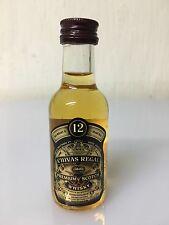 Mignon Miniature Chivas Regal 12yo Premium Scotch Whisky 5cl 40%
