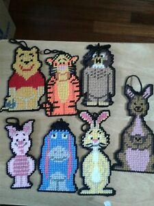 Homemade Plastic Canvas Winnie The Pooh Set