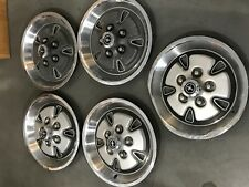 I Set of 5 (pc) Ford Mustang Hubcaps Wheel Covers 1971-1973 PN# 698
