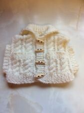 Handmade Knitted Tea Cosy Jumper Sweater White