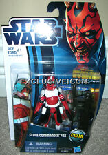 Star Wars The Clone Wars 2012 CW18 Clone Commander Fox Canadian