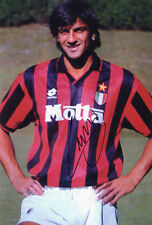 Gianluigi Lentini, AC Milan, Italy, signed 12x8 inch photo. COA. Proof.