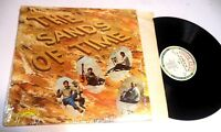 1st SELF-TITLED DEBUT S/T by The Sands Of Time Dave Jobe LP Shrink Christian