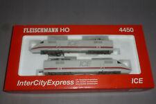 Fleischmann ICE Triebzug in OVP 4450 umgerüstet auf 3-Leiter Gleichstrom Top !