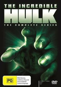 The Incredible Hulk Complete Series DVD