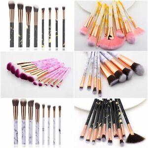 Makeup Brushes 10/5pcs Set Cosmetic Powder Eye Shadow Blush Blending Beauty Kit