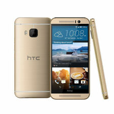 "Gold Smartphone HTC One M9 AT&T GSM 4G LTE 32GB 5.0"" Android UNLOCKED Phones US"