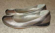 New Womens Cole Haan Shoes Sz 9 AA Bronze Metallic Sparkle Comfort Shoes