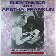 "12"" Maxi - Eurythmics - Aretha Franklin - i440 - cleaned"