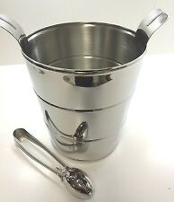 New Thomas O'Brien for Reed&Barton Tob270 Darby Ice Bucket In Original Packaging