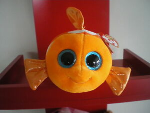 Ty Beanie Boos SAMI the fish 6 inch  NWMT.  BRAND NEW JUST ARRIVED..