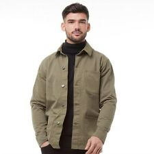 Men's French Connection Utility Jacket - Size Small - Khaki Green
