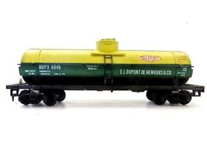 Built Mantua HO DUPONT Single Dome Tank Car ** Low Ship **   (108)