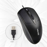 USB Wired Wheel Mouse Game Office Business Mouse Mice for Notebook Desktop