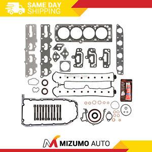 Full Gasket Set Head Bolts Fit 04-08 Suzuki Forenza Reno Daewoo Leganza A20DMS