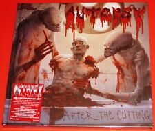 Autopsy After The Cutting Deluxe 4 CD Box Set + Book 2015 Peaceville Germany NEW