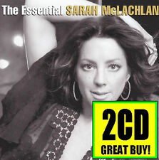SARAH McLACHLAN (2 CD) THE ESSENTIAL ~ GREATEST HITS / BEST OF 90's *NEW*