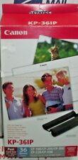 "Genuine Canon KP-36IP Color Ink & Paper Set (4x6"" paper, 36 sheets) 7737A001AH"
