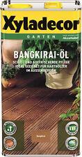 Xyladecor Bangkirai-Öl Bangkiraiöl 5 Liter Neuware WOW Art. Nr.5089014