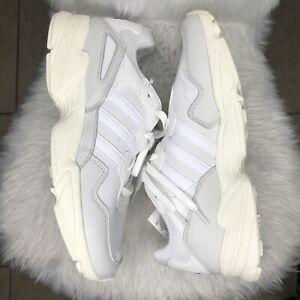 Adidas Yung 96 Cloud White Grey Men Size  Retro 90's Dad Sneaker F97176 Size 12