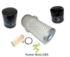 New Kubota Filter KIT AIR/FUEL/OIL/HST F2000