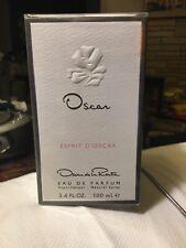 Women's Prefume AUTHENTIC OSCAR de la Renta EDP ESPRIT D'OSCAR Sealed 3.4 FL OZ