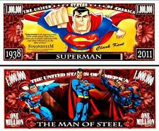 SUPERMAN Novelty Bill with  Protector and Free shipping