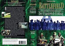 (VHS) Battlefield - Der Frankreich-Feldzug - Dokumentationen - Militär Krieg