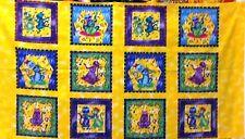 Jump n Swing Patchwork fabric Panel