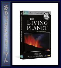 BBC THE LIVING PLANET DAVID ATTENBOROUGH 4 DVDS ** NEW*